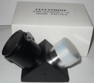 "CELESTRON STAR DIAGONAL 1-1/4"" (#94115-A).  NEW.  SPECIAL PRICE."