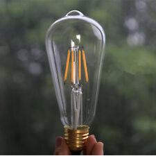 LED Bulb ST64 4W 220~250V E27 White Lights Globe Pendant Lighting Lamp Fittings