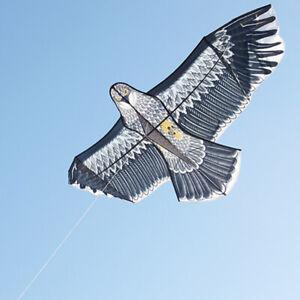 Huge 1.5m Eagle Kite single line Animal Kites Kids Kite Outdoor Game Sport