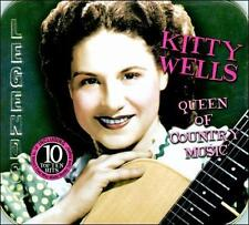 CD: KITTY WELLS Queen Of Country Music NM