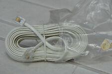 RJ11 Cable Téléphone M/M - Long 5 Mètres - White Brand New Blister - MIKADUCATI