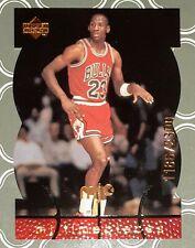 1998-99 MICHAEL JORDAN UPPER DECK MJ TIMEPIECES DIE CUT #32 NUMBERED 1186/2300