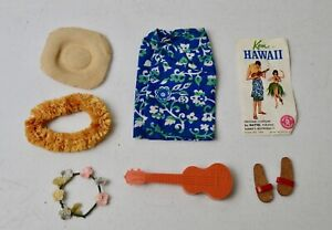 """VINTAGE BARBIE KEN OUTFIT """"KEN IN HAWAII"""" #1404 LOT BC"""