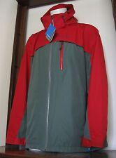 XXL Men Columbia Split Immersion Parka Jacket Interchange Red 2xl w/Hood NWT