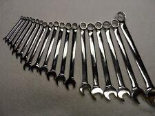 Craftsman Professional Metric MM Full Polish Combination Wrench Set - 19 pcs