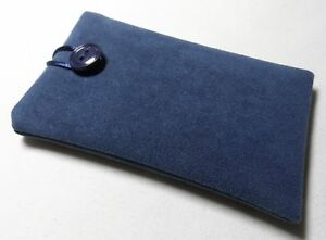 Handmade iPod nano 7th & 8th generation case/cover/pouch. Thick faux suede.