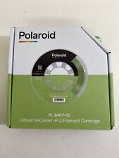Polaroid PL-8407-00 Deluxe Seda Verde PLA Filamento Cartucho Nuevo