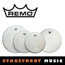 "REMO COATED DRUM HEAD PACK EMPEROR PRO ROCK SKINS 12"", 13"", 16"" + 14"" PP-1010-BE"