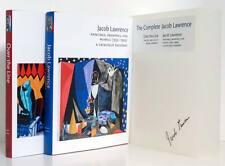 JACOB LAWRENCE Vol 1 & 2 Slipcase Harlem Art Catalogue Raisonne African American