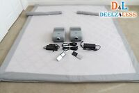 Used Select Comfort Sleep Number Queen Size Dual Temp Layer, with Pump & Remote
