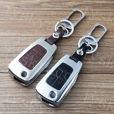 5 Button Key Holder Bag Case Fob For Chevrolet Camaro Cruze Equinox Malibu Sonic