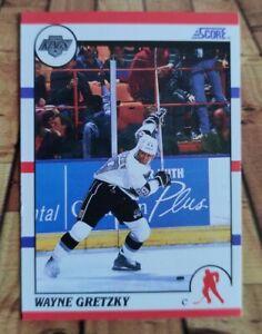 1990-91 Score NHL Wayne Gretzky 🔥 GOAT 🔥 #1