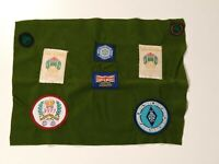 Vintage Girl Guides Patch Badges Lot Diamond Jubilee Scotland 1977