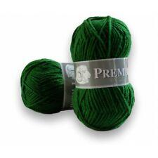 Pelote laine à tricoter Acrylique Première 454 Vert Sapin - fabriquée en France