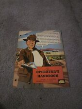 Interstate Training Service Caterpillar Equipment Operator comic manual 1950