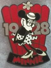 Disney Store Usa 1999 Countdown to the Millennium Series Pin #100 Minnie Pp #385