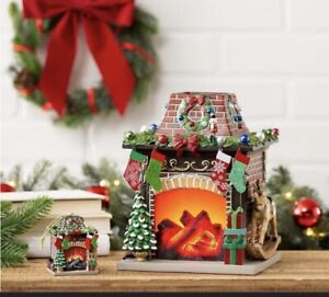 Scentsy Holiday Hearth Wax Warmer With Ornament *Limited Edition* HTF Sold Out Q