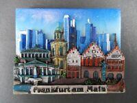 Magnet Frankfurt Römer  Poly Relief 7 cm Germany Souvenir,NEU