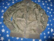 ELWOOD Men Flight  Military green jacket 100% Nylon M