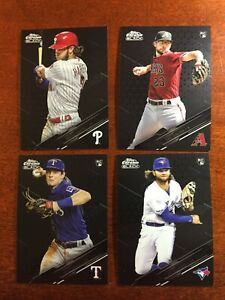2020 Topps Chrome Black Base and Refractors - YOU PICK