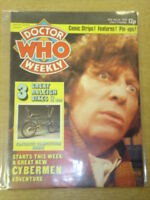 DOCTOR WHO #5 1979 NOV 14 BRITISH WEEKLY MONTHLY MAGAZINE DR WHO DALEK CYBERMEN