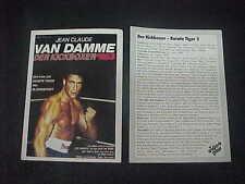 KICKBOXER, film card (Jean-Claude van Damme)