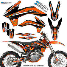 2012 2013 KTM EXC EXC-F EXCF XCFW 350 500 GRAPHICS KIT DECO DECALS STICKERS