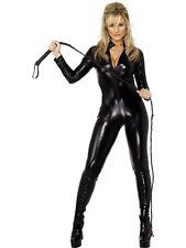 Women's Carnival Costume Sexy Mistress Black Smiffys 09877