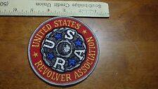 VINTAGE  UNITED STATES REVOLVER ASSOCIATION FIREARMS HUNTING  PATCH BX 11 # 21