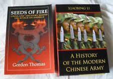 2 BOOKS HISTORY OF MODERN CHINESE ARMY/SEEDS OF FIRE CHINA ATTACK ON AMERICA
