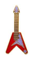 Flying V guitare électrique épinglette