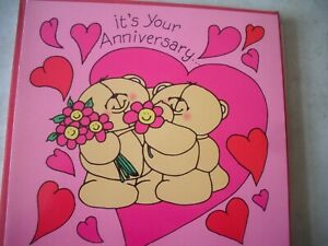 It's Your ANNIVERSARY With Love (Loving Bears) Forever Friends Card