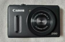 Canon PowerShot S100 Camera as New with Extra Battery & Accessories EOS