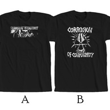 Corrosion of Conformity American Metal Band T-shirt New 100% Cotton