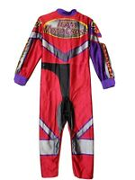 Youth DISGUISE MOTOCROSS DRIVER Halloween Costume Size Husky 10 - 12