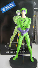 WARNER BROS The RIDDLER STATUE Figurine Maquette w/BOX WB Batman Figure toy Bust