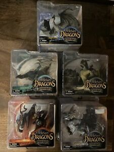 McFarlane's Dragons Series 1: Quest for the Lost King; Complete. 5 Dragons