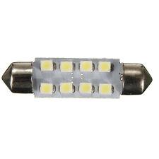10pcs 41MM 8 1210 Festoon Car Dome Map Interior LED Light Lamp Super Bright Whit
