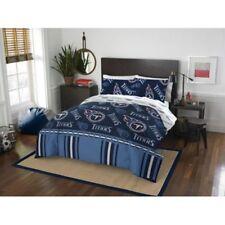 Tennessee Titans Nfl Queen 5 Piece Comforter Bedding Team Logo Bed in Bag Set