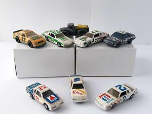 8 Vintage Toy Cars ERTL Hotwheels Matchbox Nascar Fan Lot Kroger Strohs Crisco