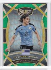 2016-17 Edinson Cavani #/5 Panini Select Uruguay Soccer Refractor
