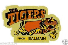 """""""THE TIGERS FROM BALMAIN"""" Vinyl Decal Sticker NRL RUGBY LEAGUE WESTS"""