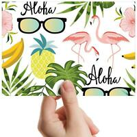 "Aloha Hawaii Flamingo Sunglass Small Photograph 6""x4"" Art Print Photo Gift #8489"