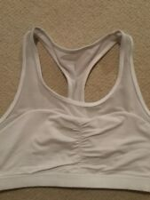 lorna jane white sports bra - medium