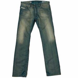 Diesel Safado Regular Slim Straight Jeans Men's Size 31x30 Stretch