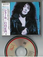 CHER s/t BON JOVI JAPAN CD 32XD-897 w/Laminated OBI Price 3,200 JPY  Free S&H