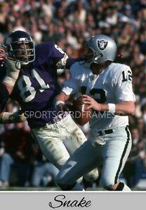 """Kenny Stabler """"SNAKE"""" Super Bowl XI Vintage PRINT (comes 4 sizes)"""