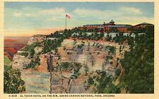 Grand Canyon National Park, Arizona, El Tovar Hotel On The Rim - Fred Harvey