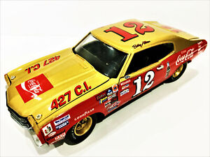 Bobby Allison Franklin Mint #12 Coca Cola 1970 Chevelle Custom Nascar Diecast