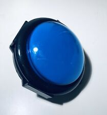 Blue Jumbo Illuminated Push Button 100mm Dome For Arcade Games